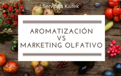 AROMATIZACION VS MARKETING OLFATIVO